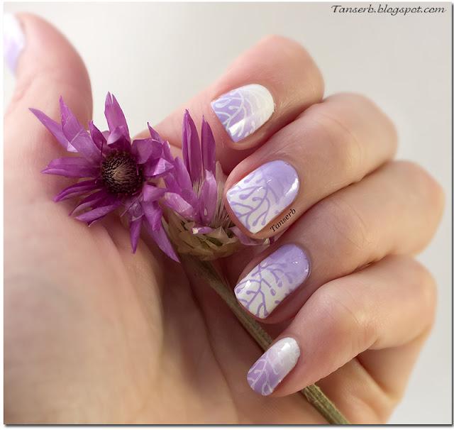 Краска для стемпинга El Corazon Lilac stm-07