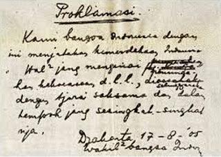 naskah-proklamasi-kemerdekaan-RI-soekarno-hatta