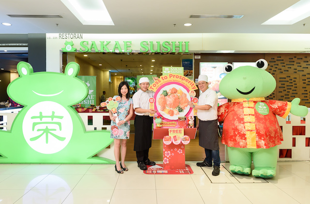 Toss To Prosperity with Sakae Sushi