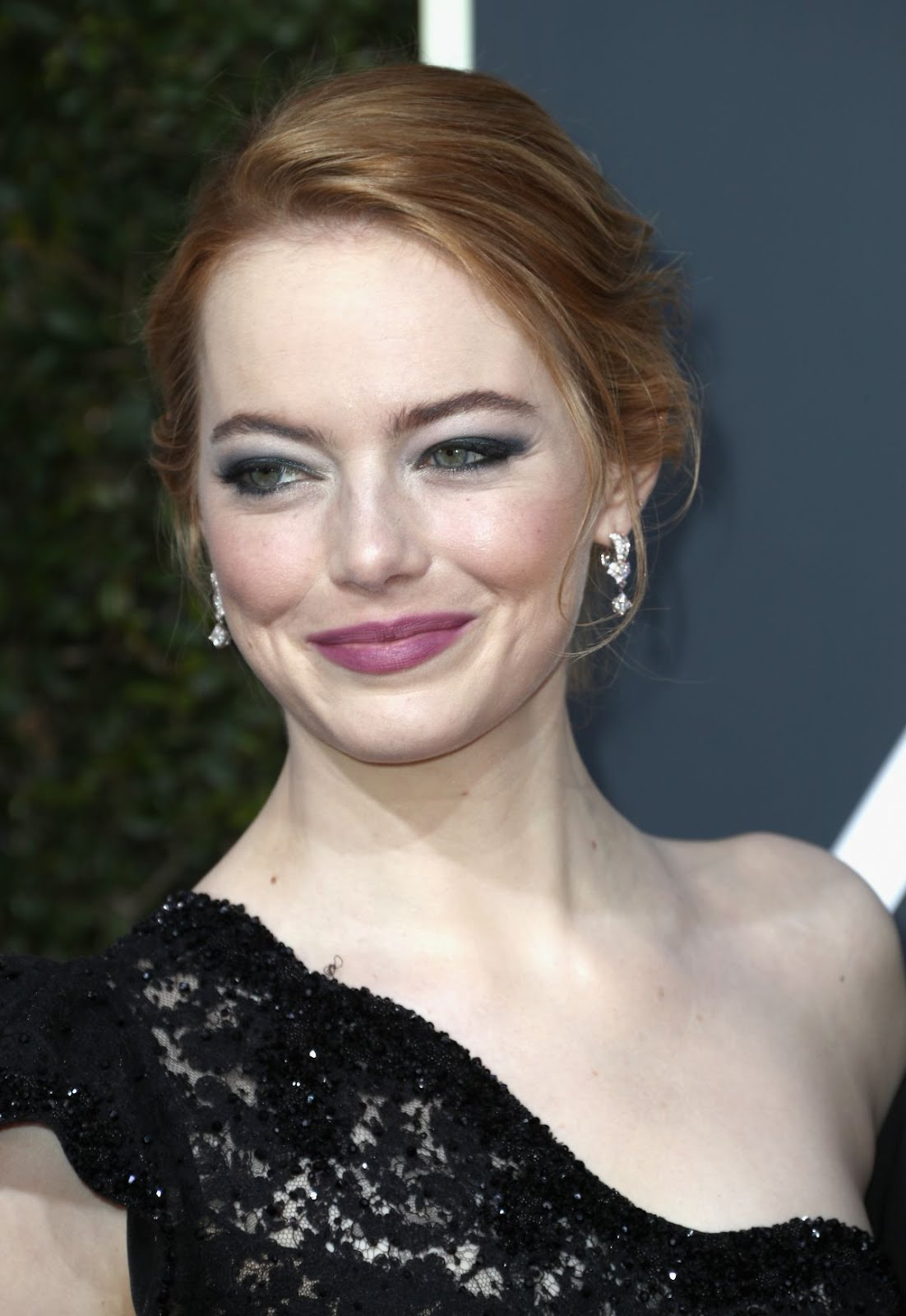 Emma Stone At 75Th Annual Golden Globe Awards In Beverly Hills