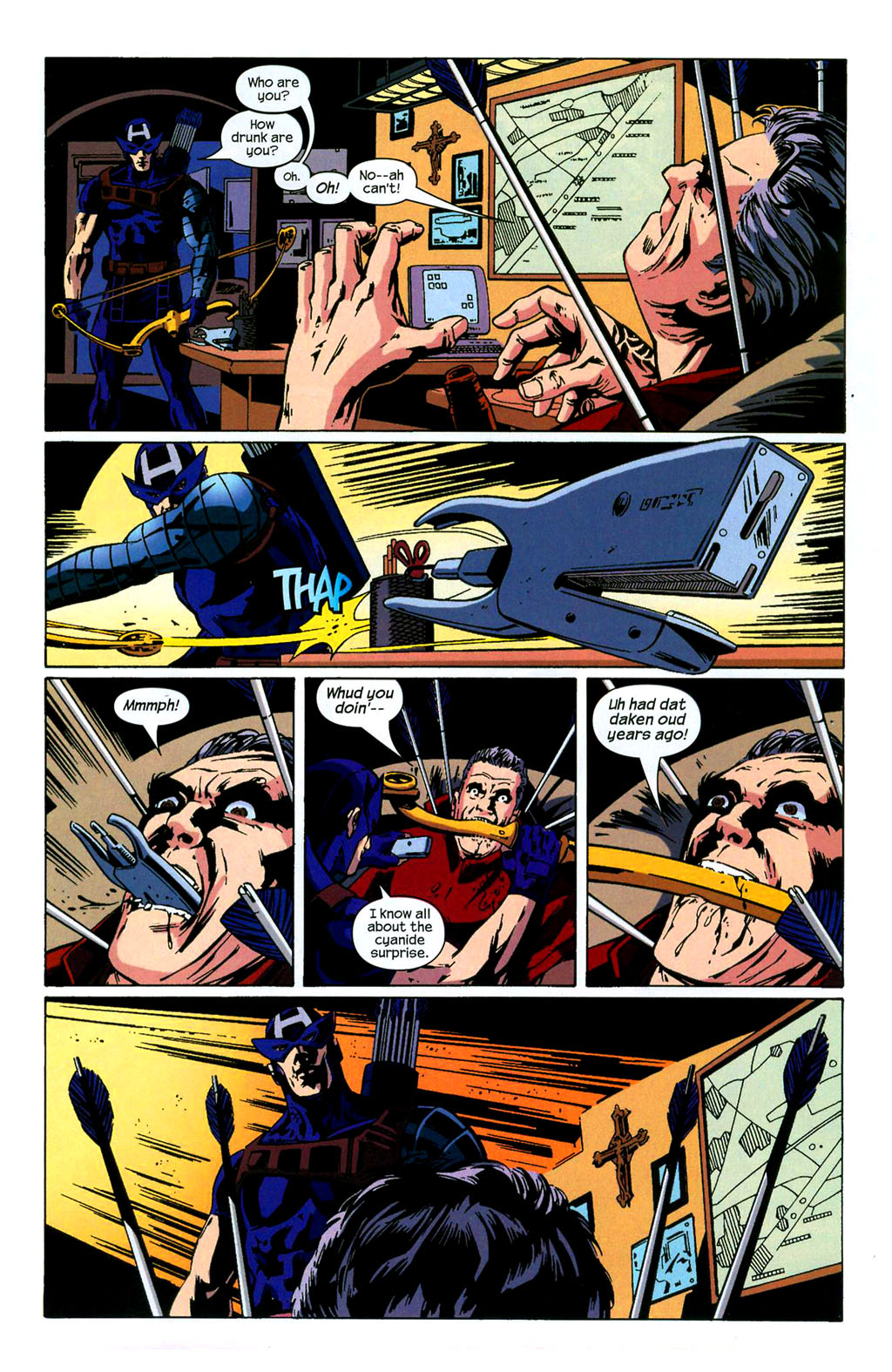 Hawkeye (2003) Issue #4 #4 - English 19