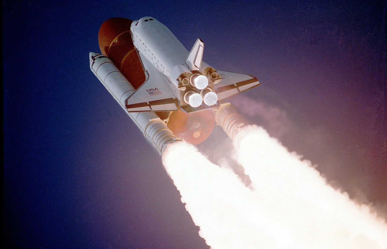 space shuttle powerpoint template - photo #38