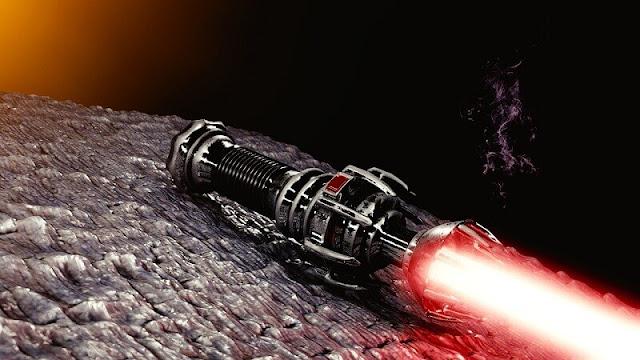 light saber merah dari star wars
