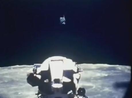 UFO over Lunar Module of Apollo Mission, from NASA archives Apollo,+mission,+8,+eight,+UFO,+UFOs,+orb,+orbs,+probe,+probes,+sighting,+sightings,+photos,+lunar,+surface,+moon,+luna,+module,+1968,+december,+dark+sideScreen+Shot+2012-02-05+at+2.56.47+PM