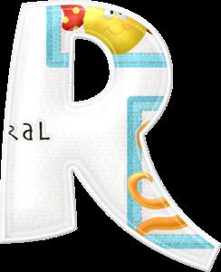 Alfabeto con Animales Marinos.