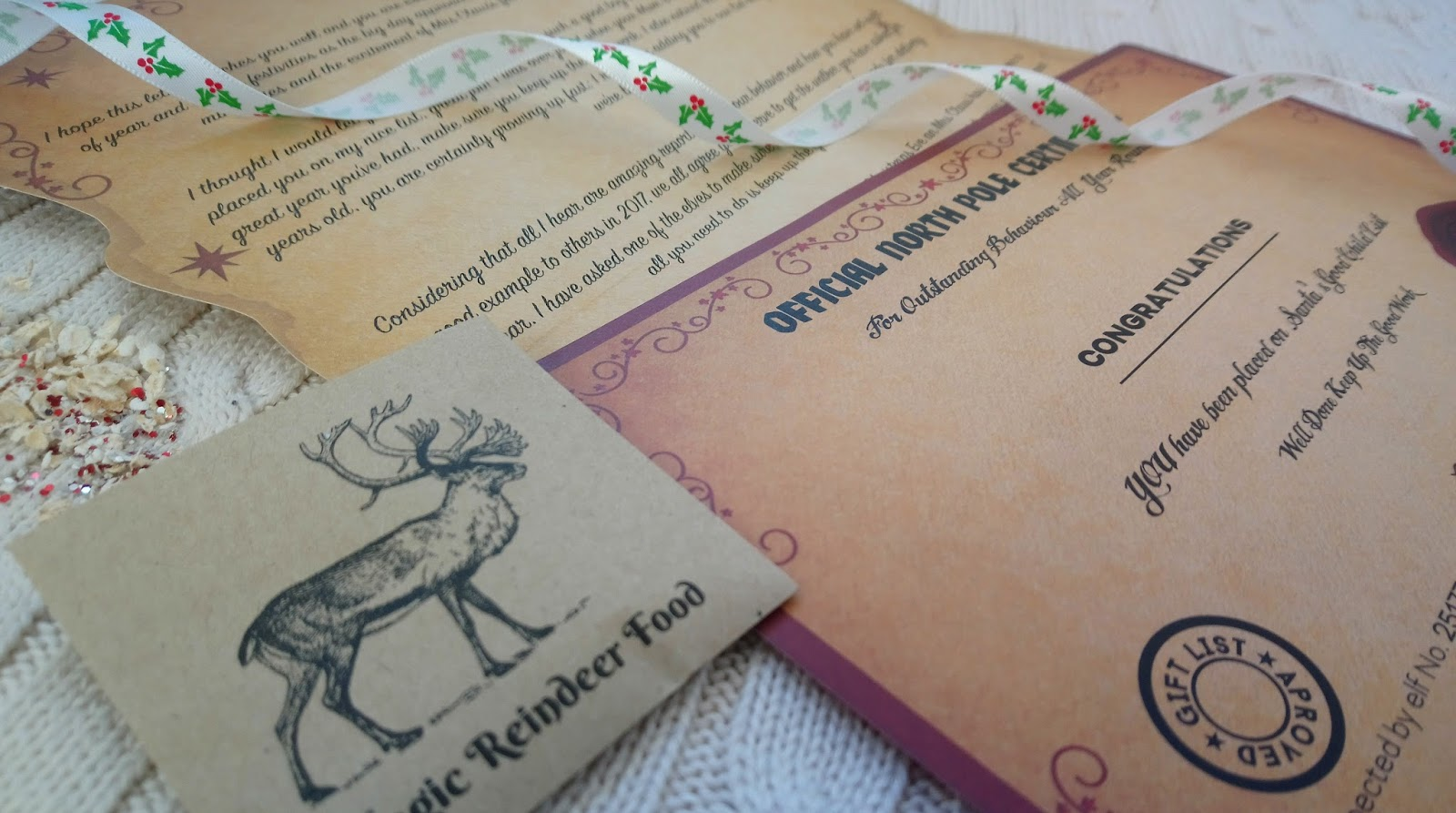 Magic santa letter truly magic review queen bee becca magic santa letter review spiritdancerdesigns Choice Image