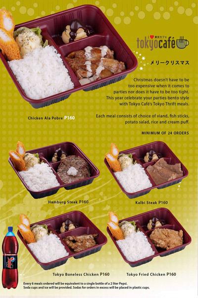 Promo+1 - Westernized Japanese Restaurant - Tokyo Cafe