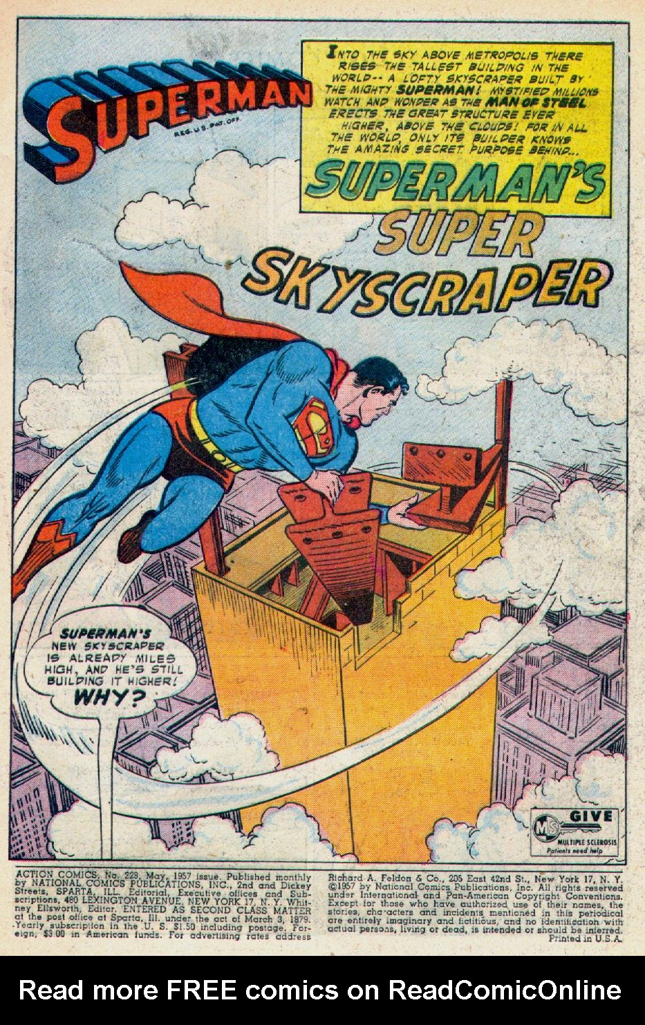 Read online Action Comics (1938) comic -  Issue #228 - 3
