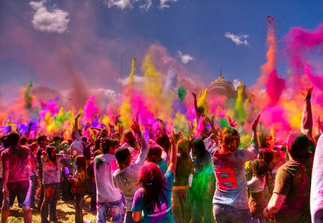 Picture Of Holi Festival in India