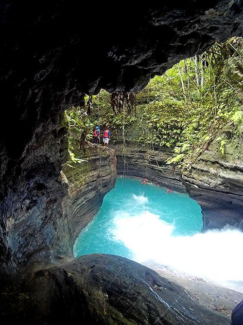 Canyoneering, Badian