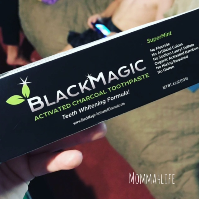 Black Magic I M In Love With The Charcoal: Momma4Life: Black Magic Charcoal Toothpaste