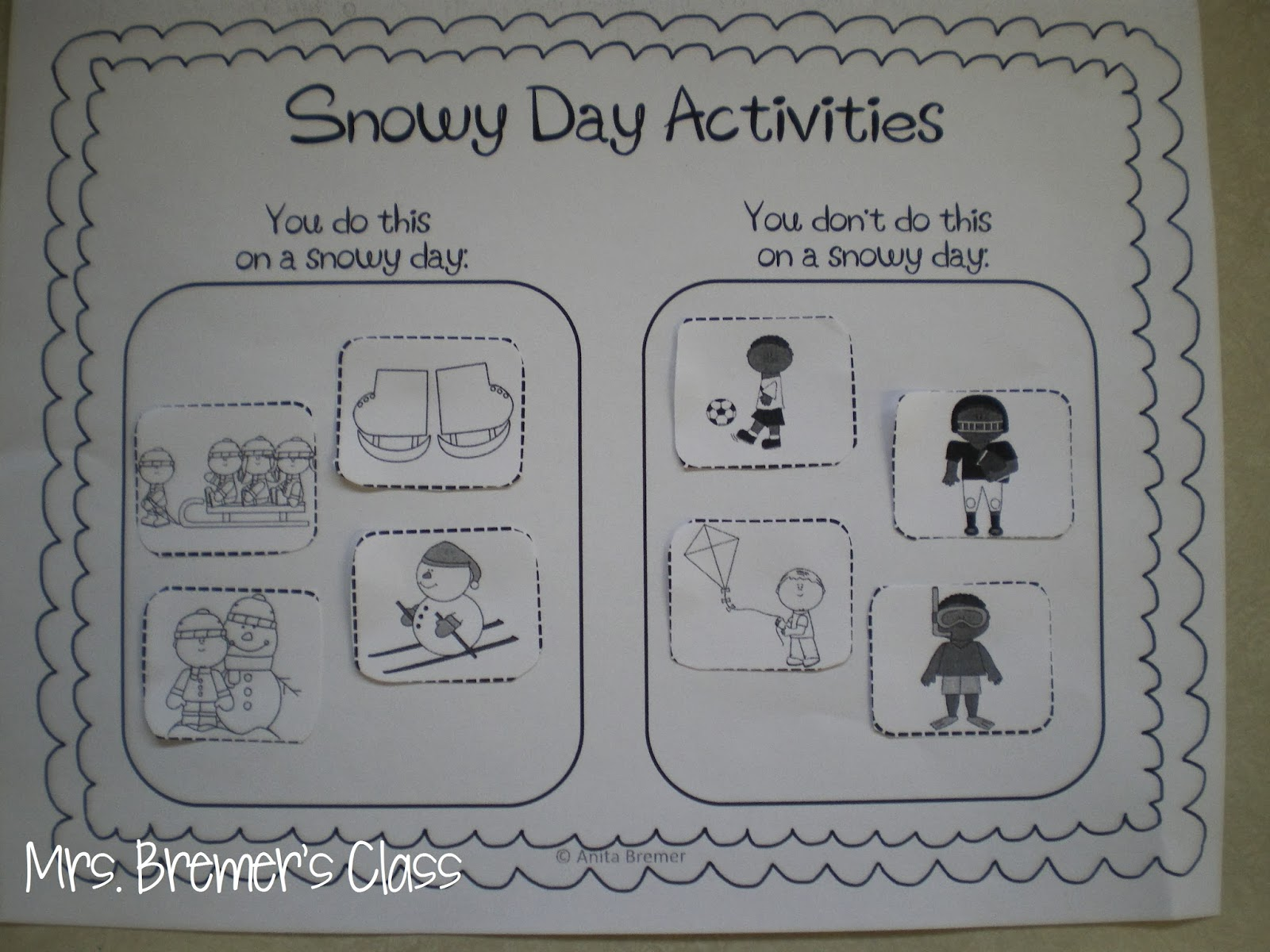 Mrs Bremer S Class Snowy Books The Snowy Day Free Pack And The Jacket I Wear In The Snow