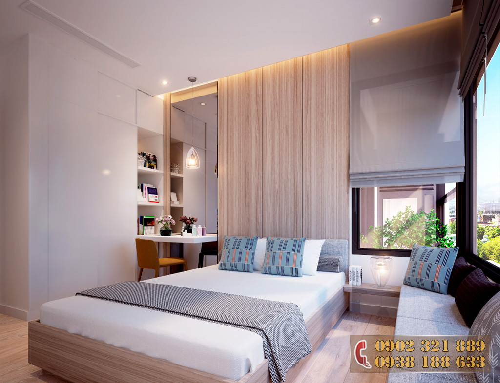 Nội thất căn hộ Kingdom 101 - Phòng ngủ căn hộ 2B