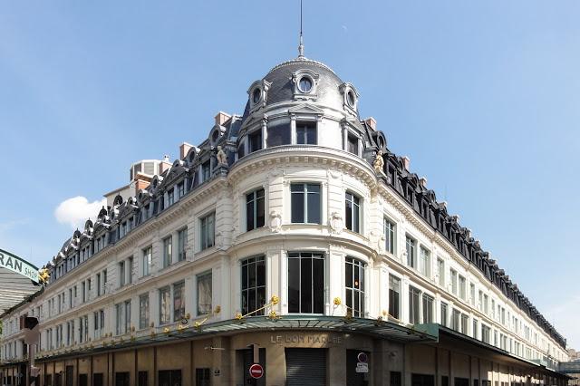 Mercado Le Bon Marché em Paris