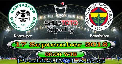 Prediksi Bola855 Konyaspor vs Fenerbahce 17 September 2018