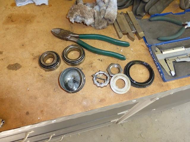 parts from brake hub