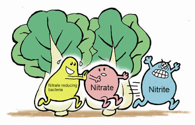 How is nitrate produce