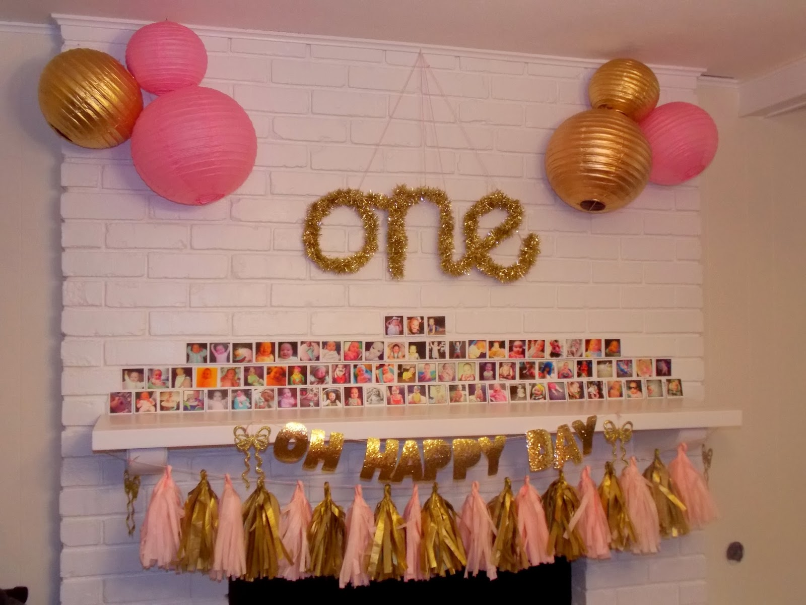 Shelbys First Birthday Party