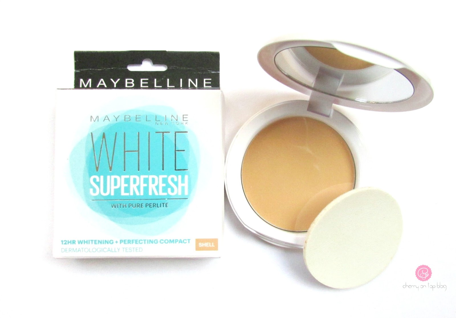 Maybelline White Superfresh 12hr Whitening+Perfecting Compact| Review, Swatch, Price