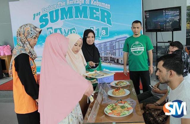 Mahasiswa Enam Negara Ikuti Summer Camp di Stikes Gombong