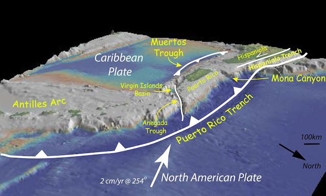 hispaniola trench