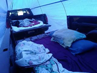 Truco para acampar con camionetas