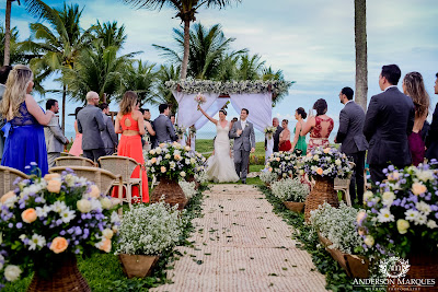 Casamento real - Andressa e Guilherme: Lindo destination mini wedding