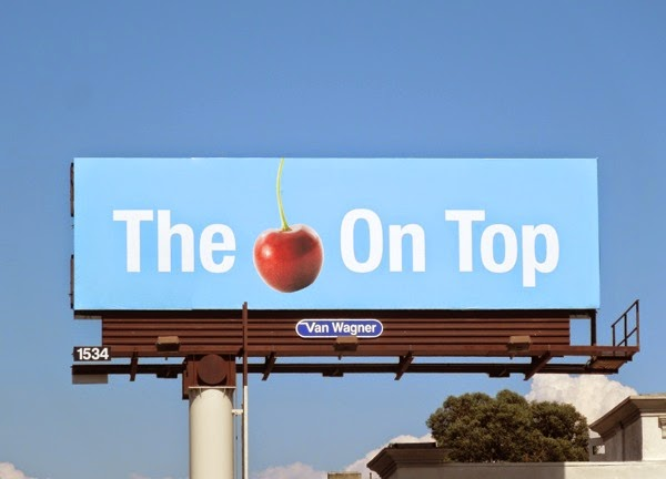 cherry on top billboard