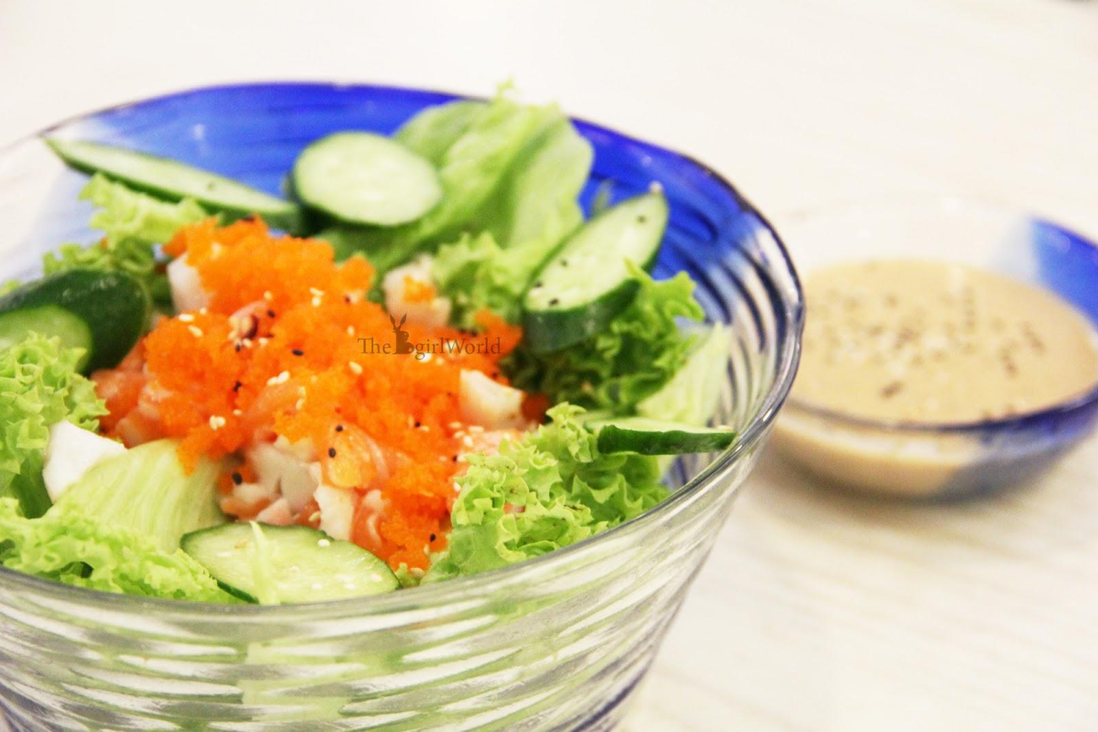 Sushi mentai mahkota cheras sushi at only or rm2 for Sashimi dressing