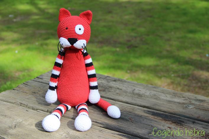 Cogiendo Hebra: Gato amigurumi a crochet