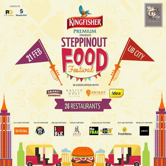 SteppinOut Food Festival - UB City, Bengaluru