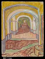 Van Gogh, Couloir d'asile, MET