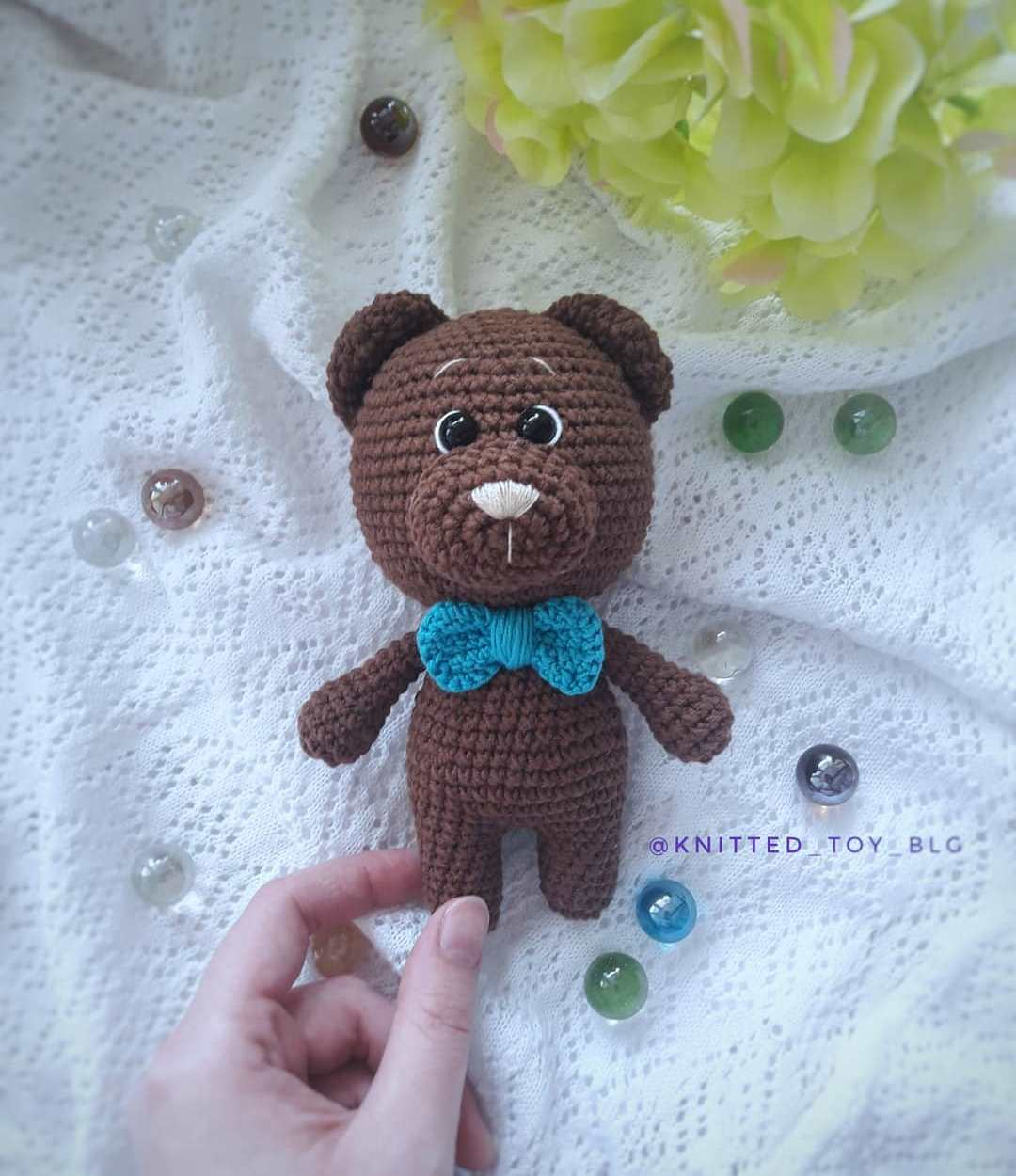 Free Crochet Patterns | Crochet Pattern Amigurumi Teddy Bear ... | 1250x1080