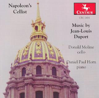 Duport, J.-L.: Cello Music (Napoleon's Cellist)