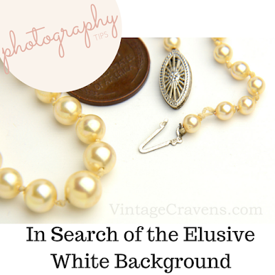 Photographing Jewelry: How to Get a Nice White Background