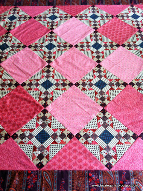 Tazzie Quilts: Top Finished!!
