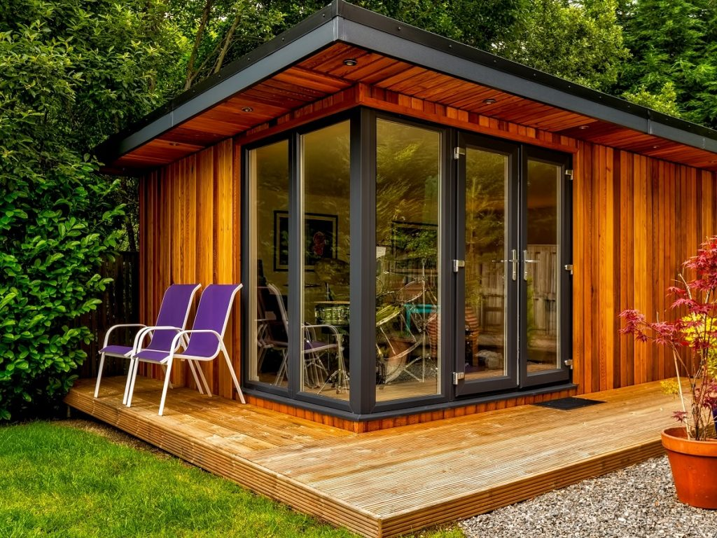 subterranean space garden backyard huts cabins sheds. Subterranean Space Garden Backyard Huts Cabins Sheds. Offices: How People Shedwork From Home Sheds Pinterest