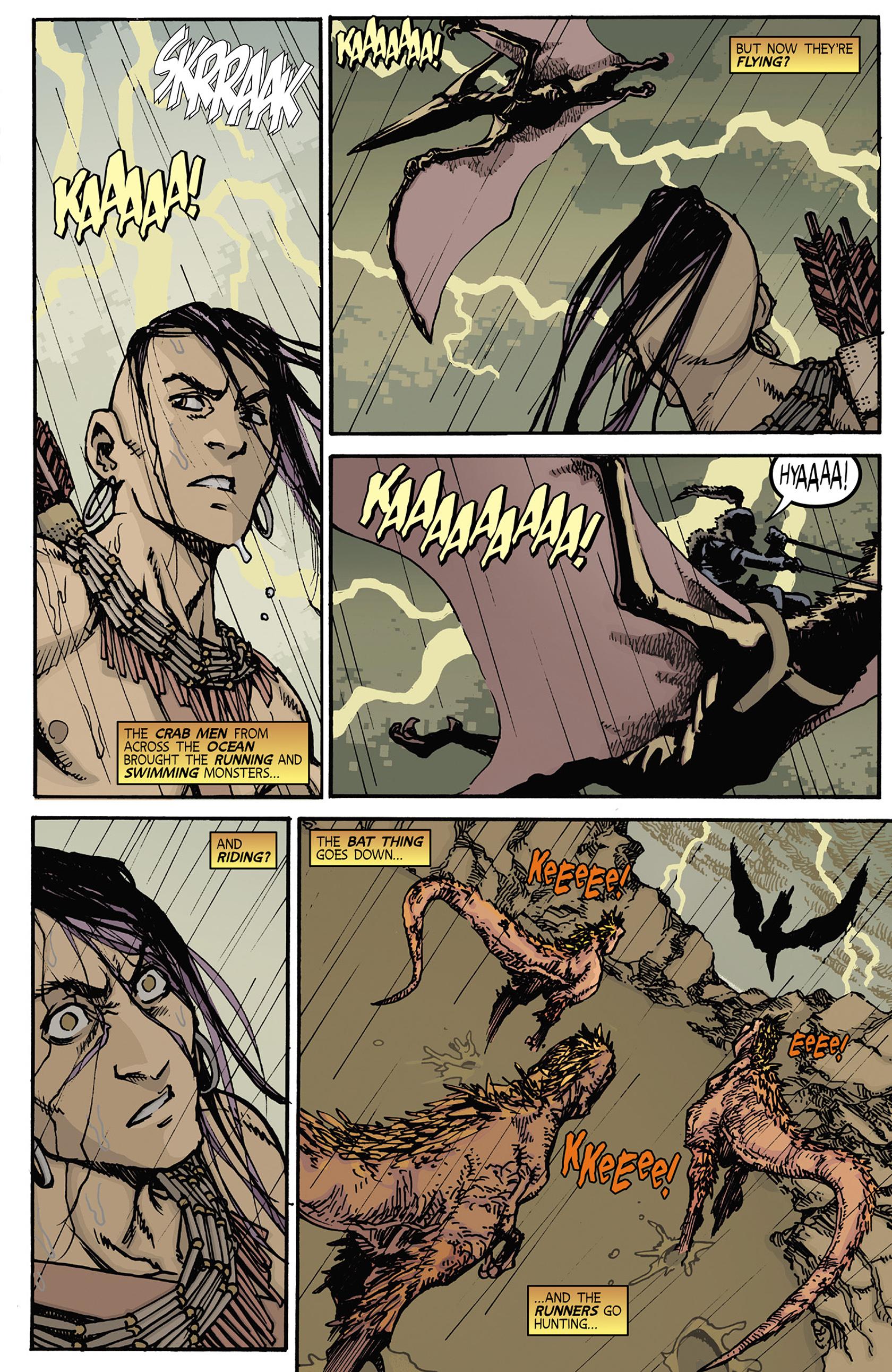 Read online Turok: Dinosaur Hunter (2014) comic -  Issue #5 - 5