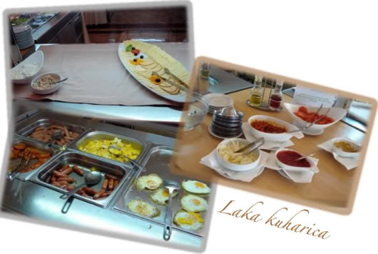 Vodice bez vode by Laka kuharica: hotel food