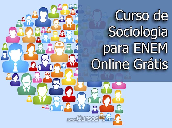 Curso de Sociologia para ENEM Online Grátis