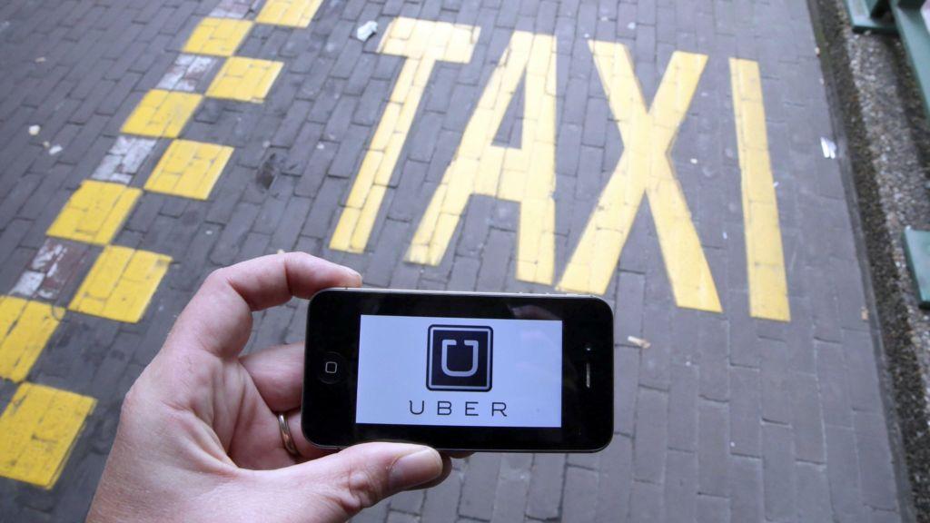 Такси Uber, Украина