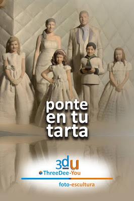Ponte En Tu Tarta – Foto-Esculturas para tartas de boda, aniversario, comunión y cumpleaños