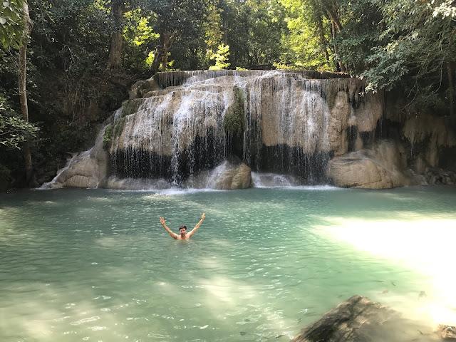 Gorgeous Erawan Falls