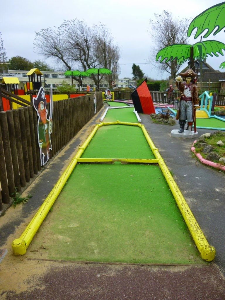 Minigolf at Pontins Camber Sands