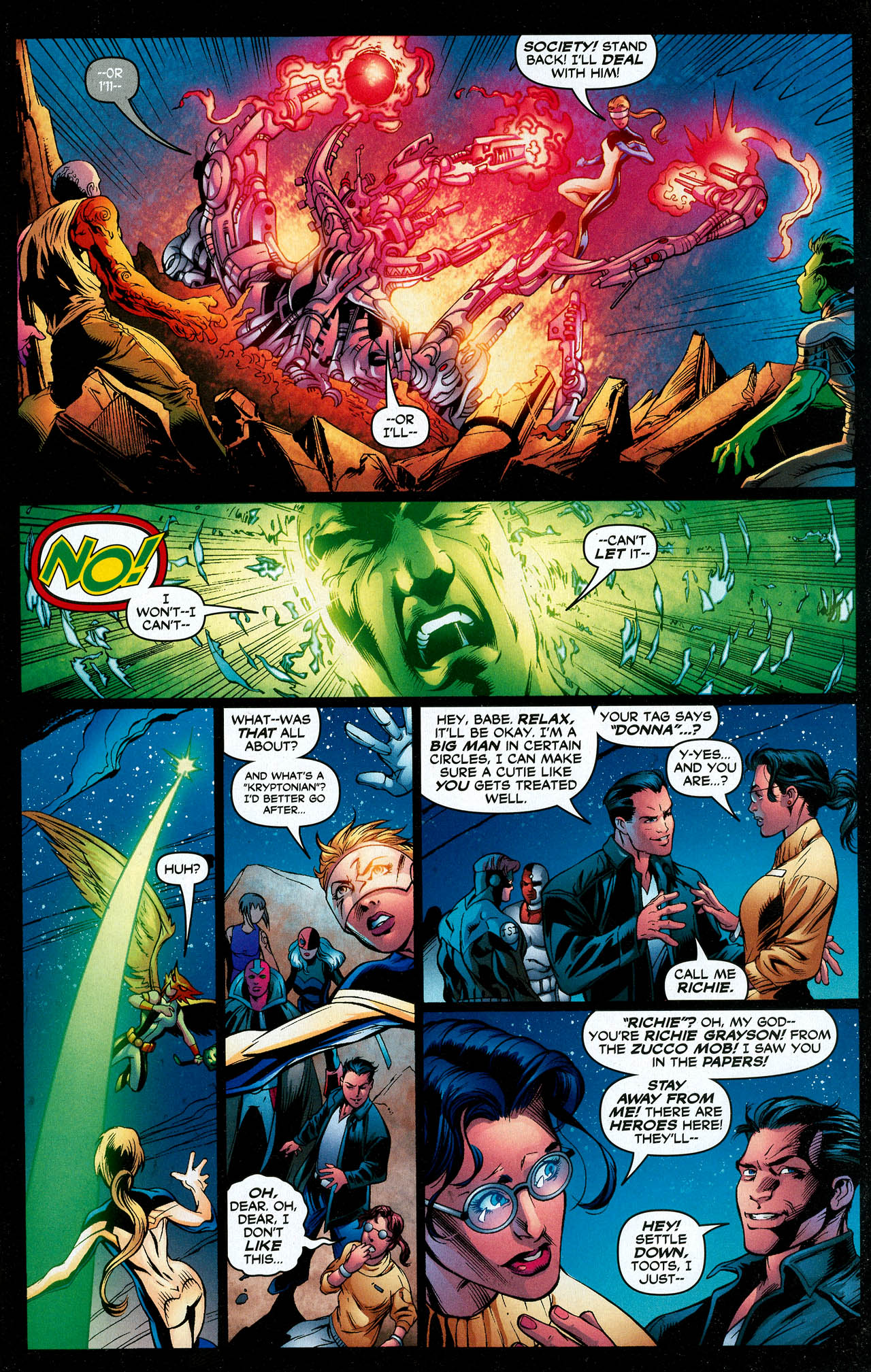 Read online Trinity (2008) comic -  Issue #18 - 13