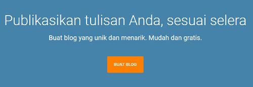 Cara Login Membuka Dasbor Blog di Blogger