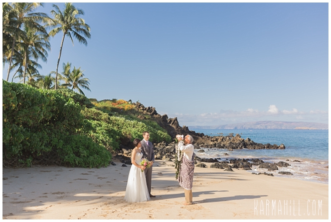 Wailea Morning Wedding Photographer