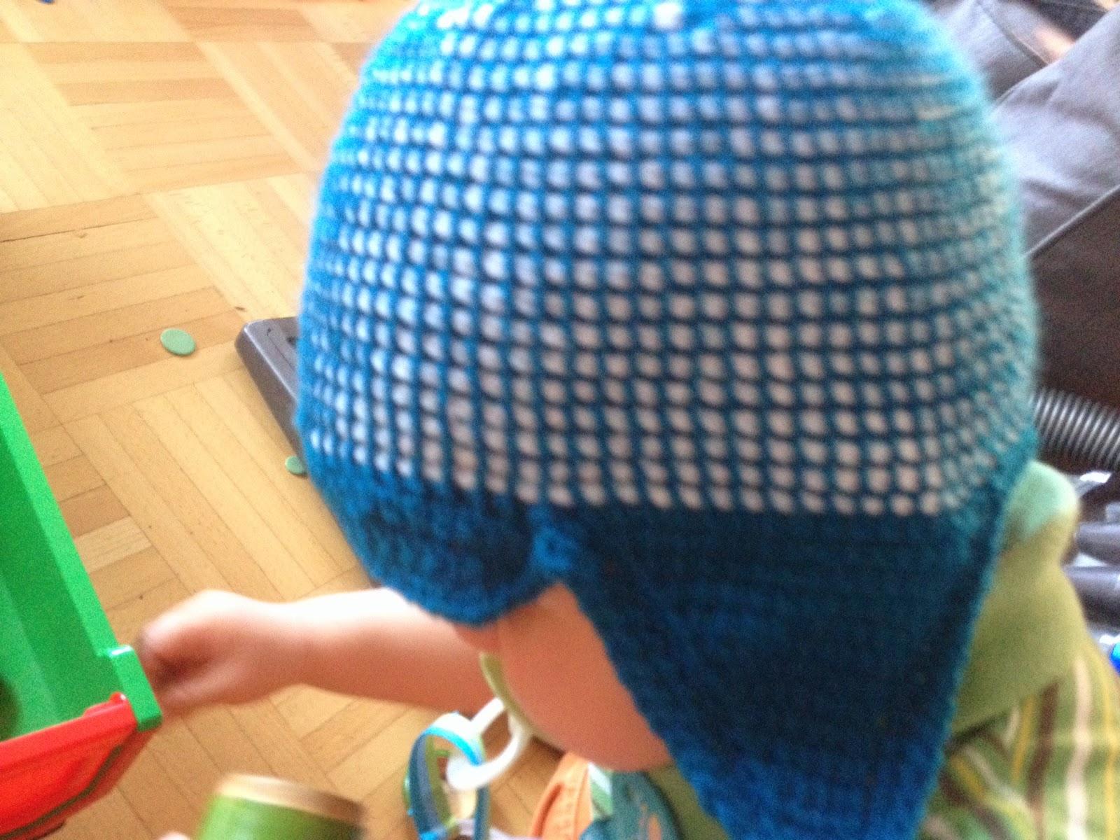Betti Hat Frei Mütze Tunesisch Häkeln Mit Doppelnadel