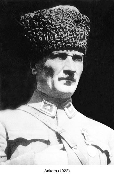 Atatürk Ankara 1922 Fotoğraf