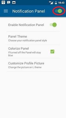 Cara Mengubah Tampilan Status Bar dan Notifikasi Android Tanpa Root